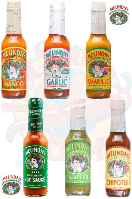 Melinda's Mildest Hot Sauces Gift Set, 6/5oz.