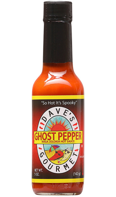 Dave's (NEW) Ghost Pepper Naga Jolokia Hot Sauce, 5oz.
