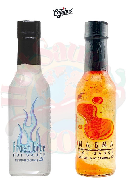 Frostbite and Magma Hot Sauces Gift Set, 2/5oz.