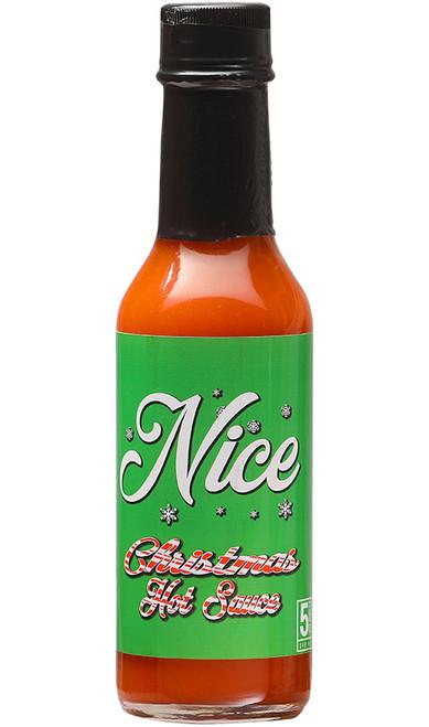 Nice Christmas Hot Sauce, 5oz. (Seasonal)