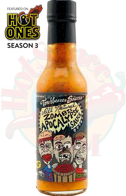 Torchbearer All Natural Zombie Apocalypse Hot Sauce, 5oz.
