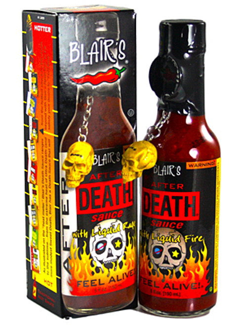 Blair's After Death with Liquid Fire Hot Sauce, 5oz.