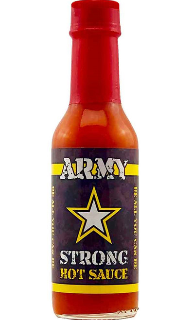 Army Strong Habanero Gourmet Hot Sauce, 5oz.