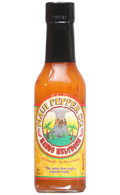 Tahiti Joe's Maui Pepper Mango Meltdown Medium Heat, 5oz.