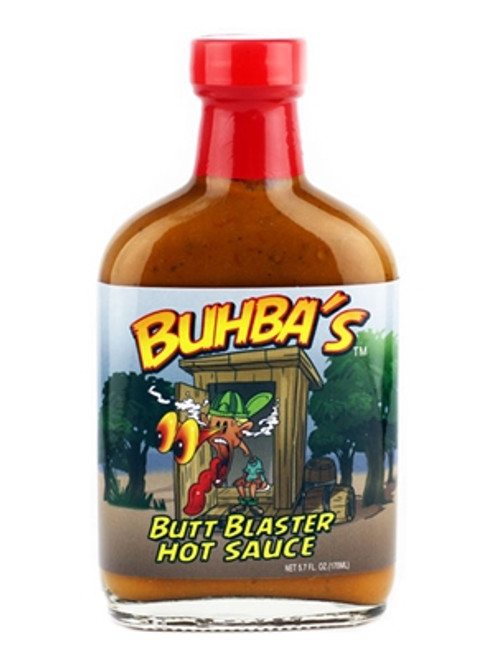 Buhba's Butt Blaster X-Hot Sauce, 5.7oz.