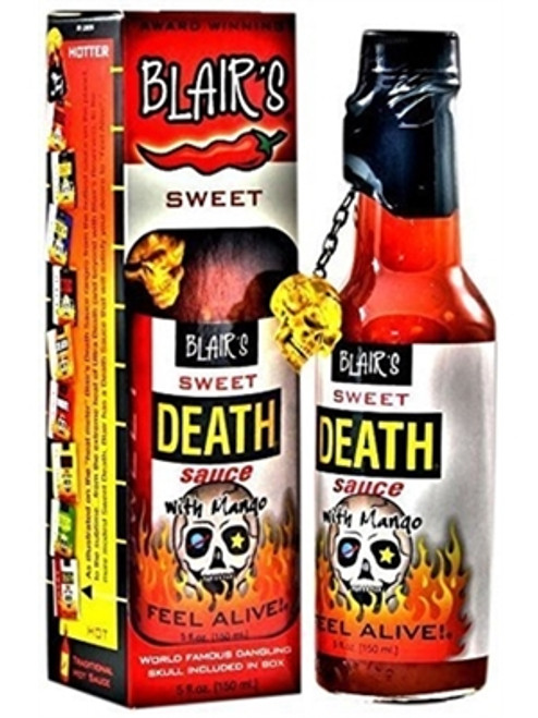 Blair's Sweet Death Sauce with Mango, 5oz.