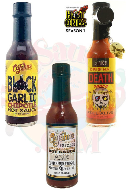 Best of Chipotle Hot Sauces Gift Set, 3/5oz.