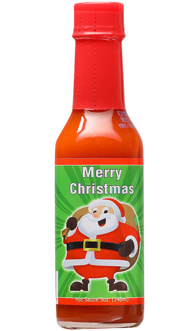 Merry Christmas Hot Sauce, 5oz. (Seasonal)