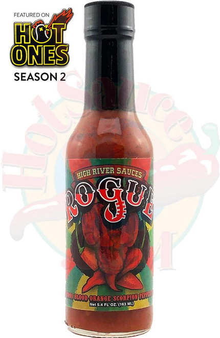 High River Sauces Rogue Hot Sauce, 5.4oz.