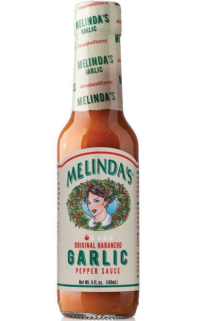 Melinda's Garlic Habanero Hot Sauce, 5oz.