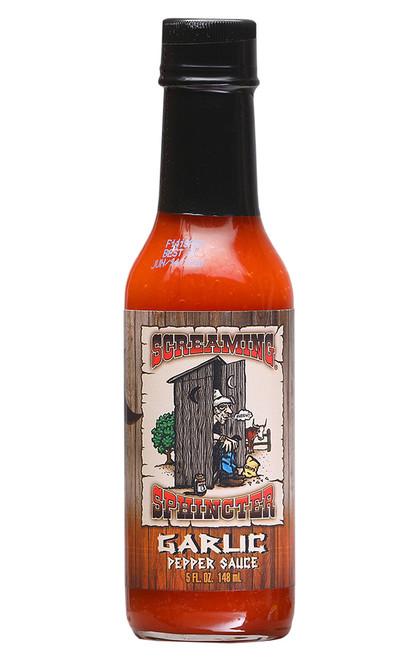 Screaming Sphincter Garlic Pepper Sauce, 5oz.