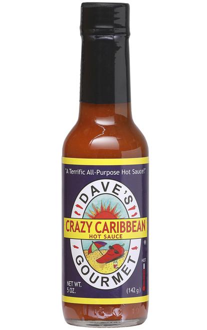Dave's Gourmet Crazy Caribbean Hot Sauce, 5oz.