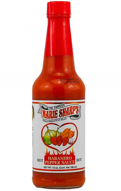Marie Sharp's Hot Habanero Hot Sauce, 10oz.