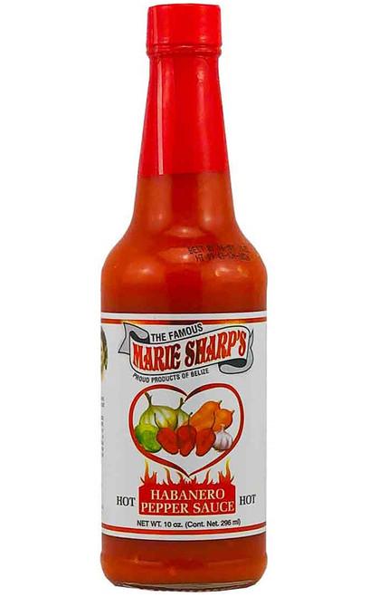 Marie Sharp's Hot Habanero Hot Sauce, 10oz.