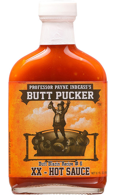 Butt Pucker XX Hot Sauce, 5.7oz.