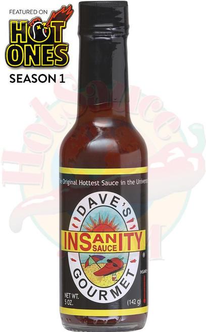 Dave's Gourmet Insanity Hot Sauce, 5oz.