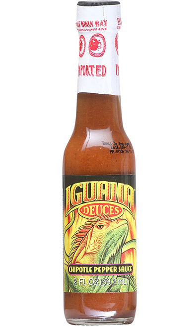 Iguana Smoky Chipotle Mini Pepper Sauce, 2oz.