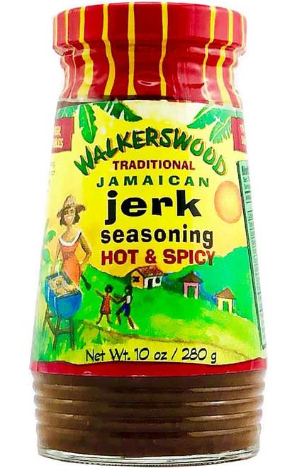 WalkersWood Traditional Jerk Seasoning Hot & Spicy, 10oz.