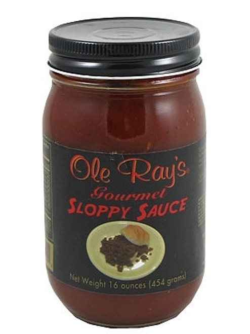 Ole Ray's Gourmet Sloppy Sauce, 16oz.