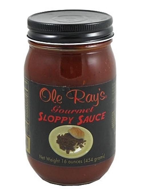 Ole Ray's Gourmet Sloppy Sauce, 16oz.