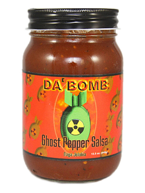 Da Bomb Ghost Pepper Salsa, 15.5oz.