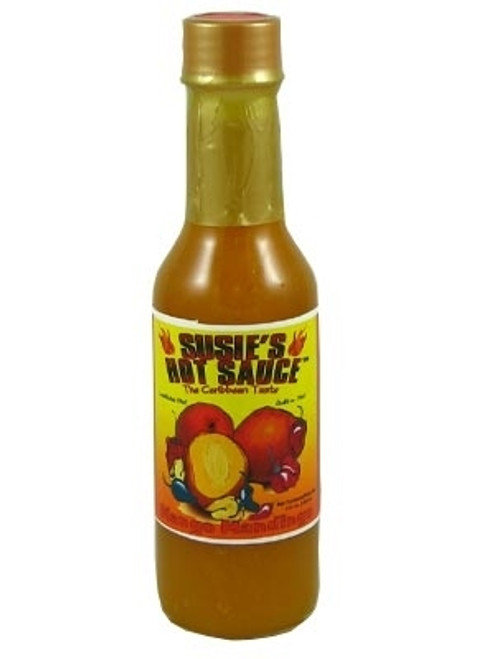 Susie's Mango Mandingo Hot Sauce, 5oz.