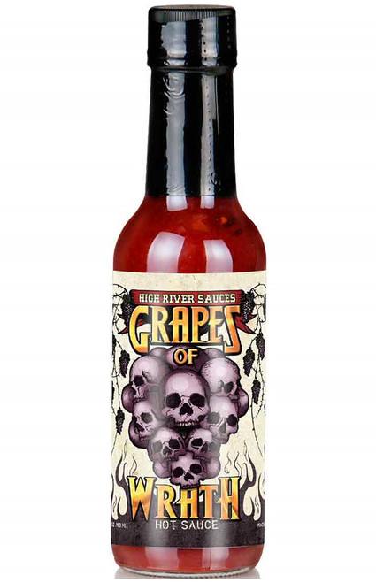High River Sauces Grapes of Wrath Hot Sauce, 5.4oz.