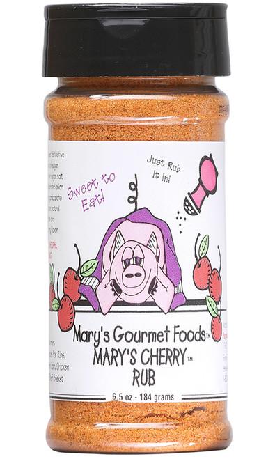 Mary's Gourmet Cherry Rub, 6.5oz.