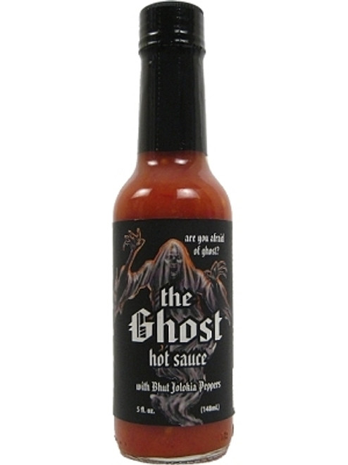 The Ghost Hot Sauce w/ Bhut Jolokia Pepper, 5oz.