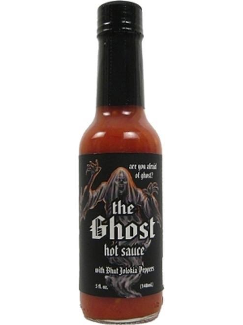The Ghost Hot Sauce w/ Bhut Jolokia Pepper, 5oz.