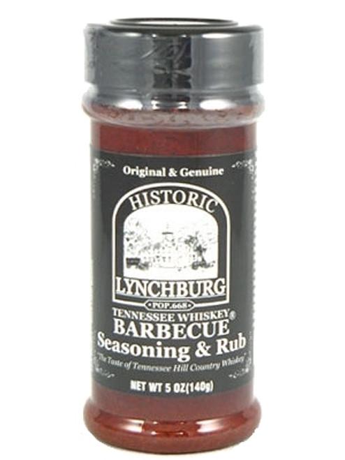 Historic Lynchburg Tennessee Whiskey BBQ Seasoning & Rub, 5oz.