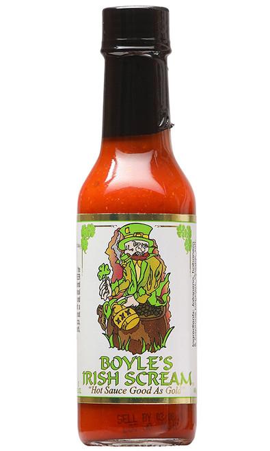 Boyle's Irish Scream Hot Sauce, 5oz.