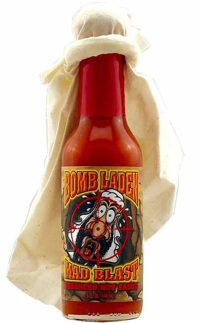 Bomb Laden Mad Blast Habanero Hot Sauce, 5oz.