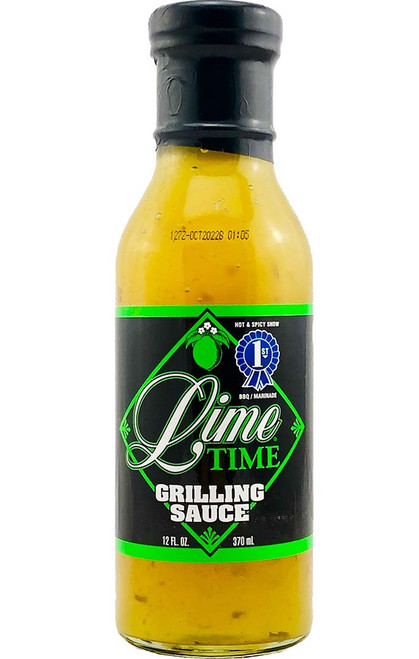 Lime Time Grilling Sauce, 12oz.
