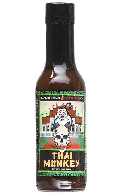 Thai Monkey Hot Sauce, 5oz.