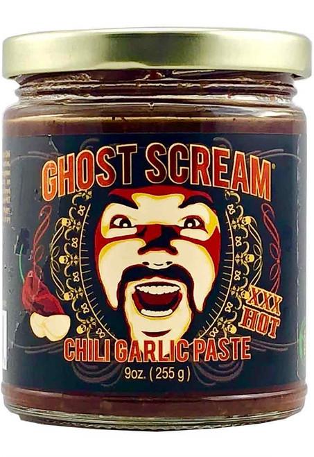 Ghost Scream Chili Garlic Paste, 9oz.