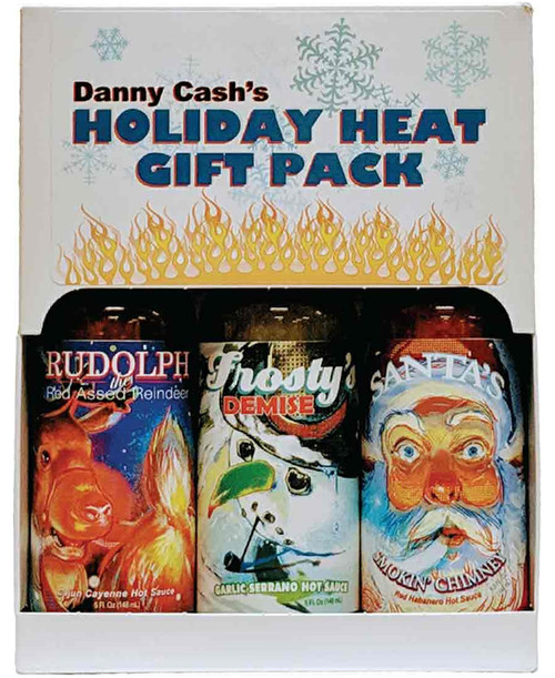 Holiday Heat X-Mas Hot Sauce Gift Set, 3/5oz. (Seasonal)