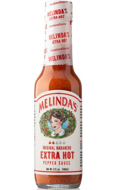 Melinda's Extra Hot Habanero Sauce, 5oz.