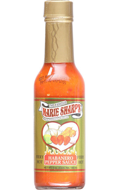 Marie Sharp's Fiery Hot Red Habanero Sauce, 5oz.