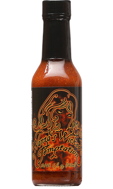 Wanza's Wicked Temptation Hot Sauce, 5oz.