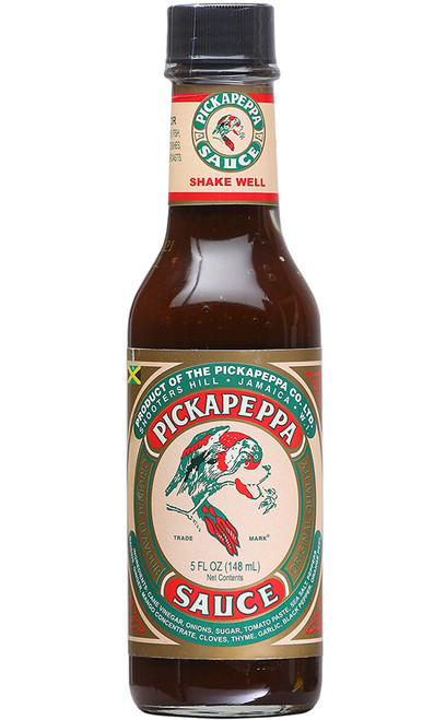 Pickapeppa Brown Hot Sauce, 5oz.