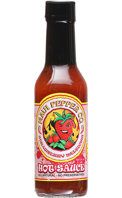 Tahiti Joe's Maui Pepper Strawberry Meltdown Hot Sauce, 5oz.