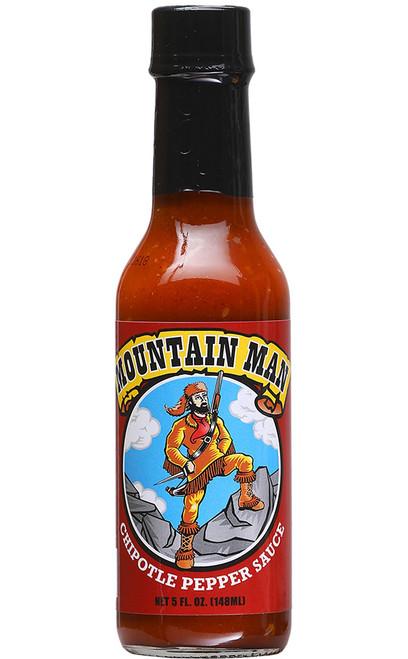 Mountain Man Chipotle Hot Sauce, 5oz.