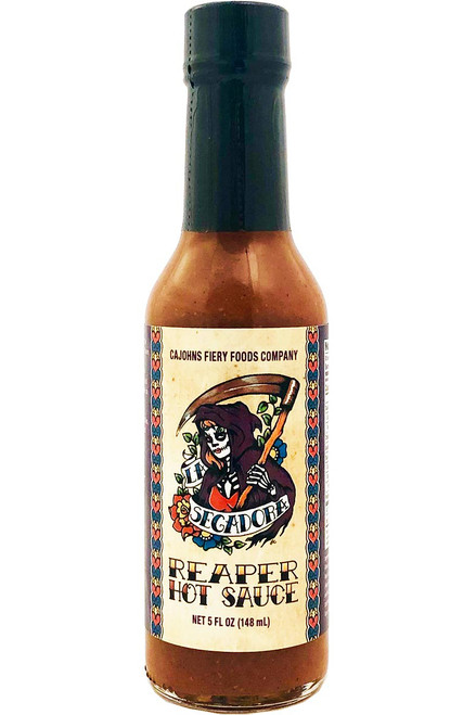 CaJohn's La Segadora Reaper Hot Sauce, 5oz.