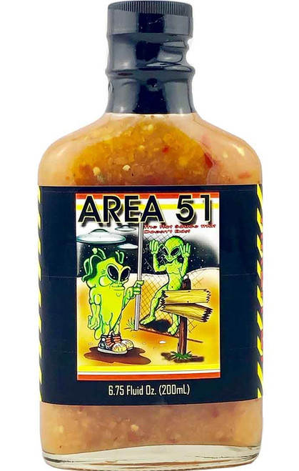 Area 51 The Hot Sauce That Doesn't Exist, 6.75oz.