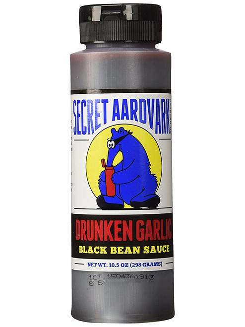 Secret Aardvark Drunken Garlic Black Bean Sauce, 8oz.