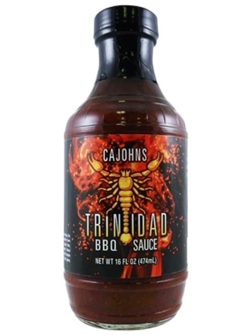 CaJohn's Trinidad Scorpion BBQ Sauce, 16oz.