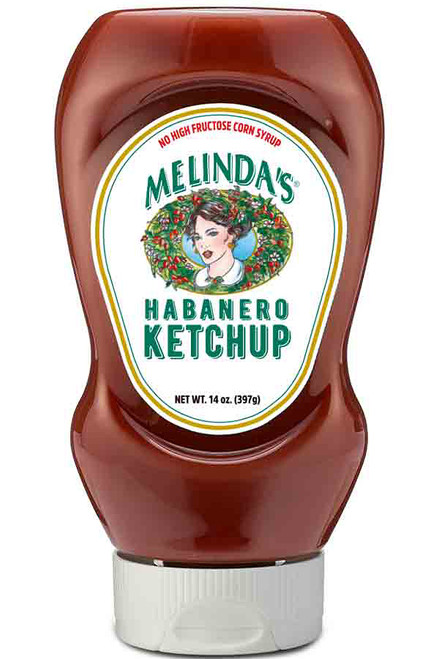 Melinda's Bold & Spicy Habanero Ketchup, 14oz.