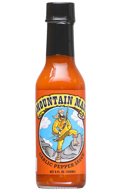 Mountain Man Garlic Pepper Sauce, 5oz.