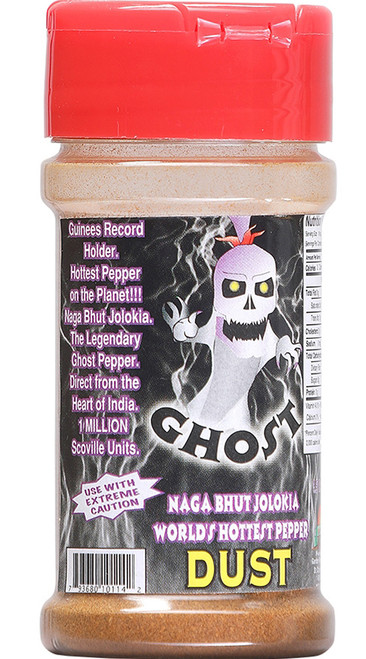 Ghost Dust Pure Ground Naga Jolokia Powder, 1oz